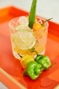 Spicy Aji Cachucha Margarita