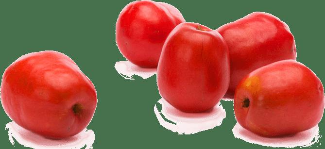 Multiple jocote fruits together