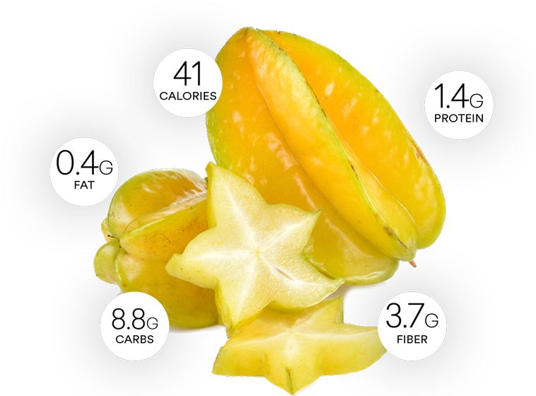 Starfruit or carambola health benefits and nutrition facts